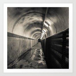Down below -  Crumlin Road Gaol Art Print