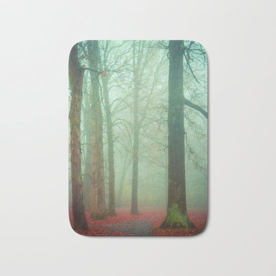 Autumn Wanderlust Bath Mat