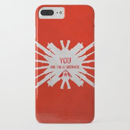 Resistance 3 - You are the resistance. iPhone Case