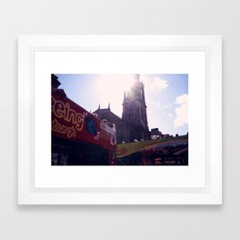 Tourist (Edinburgh) Framed Art Print