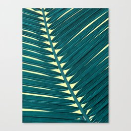 palmleave 4  #buyart #society6 #decor Canvas Print