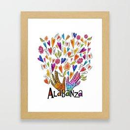 Alabanza Framed Art Print