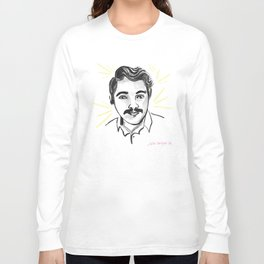 SWEET 'STACHE STEPHEN Long Sleeve T-shirt