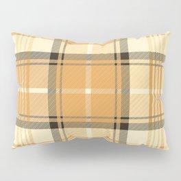 Gold Tartan Pillow Sham