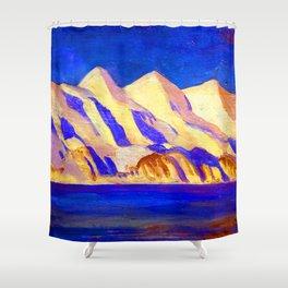 Rockwell Kent Alaska Impression Shower Curtain