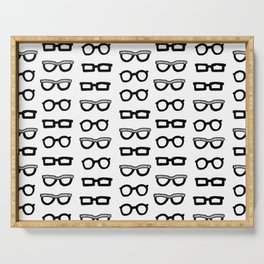 Sunglasses BW Serving Tray