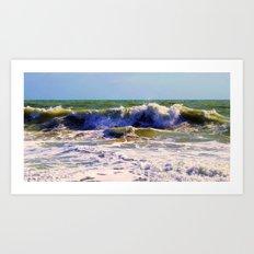 Ocean Power Art Print
