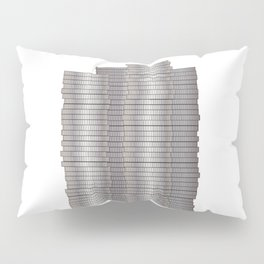 Pieces of Silver Pillow Sham
