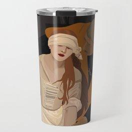 Lady Jane Grey illustration Travel Mug