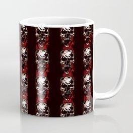 Pattern Graphic Blood Skull Coffee Mug