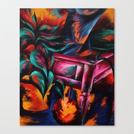 Expressionistic Still Life Canvas Print