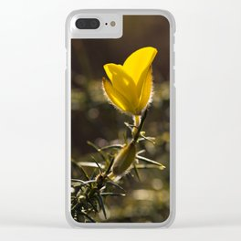 Gorse Flower Clear iPhone Case