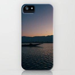 Burmese Fisherman at Dawn iPhone Case