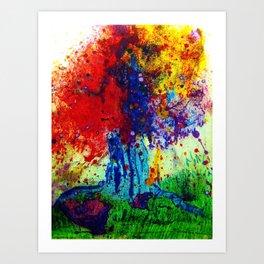 prism tree Art Print