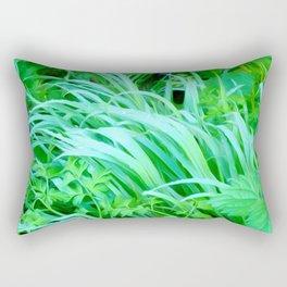 Grass Art One Rectangular Pillow