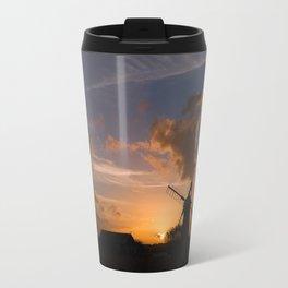 Sunset on the Norfolk Broads Travel Mug