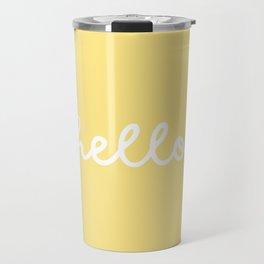 HELLO YELLOW Travel Mug