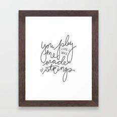 In the Next Room Framed Art Print