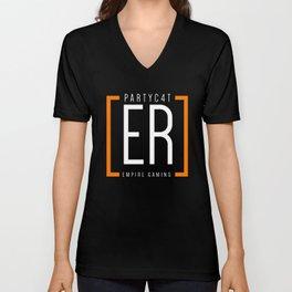 PARTYC4T - Empire Shirt Unisex V-Neck