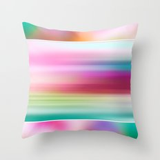 The Sound of Light and Color | PASTEL TRIPLET Throw Pillow