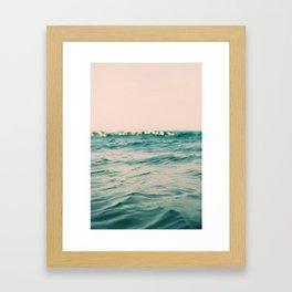Pink Skies Framed Art Print