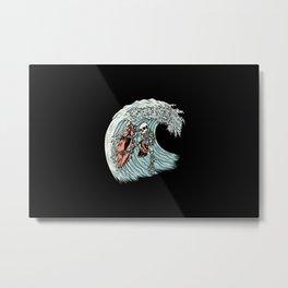 Death Surfer Metal Print