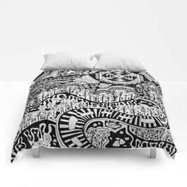 Lost in the Pilliga Comforters