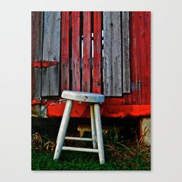 Milk Stool Canvas Print