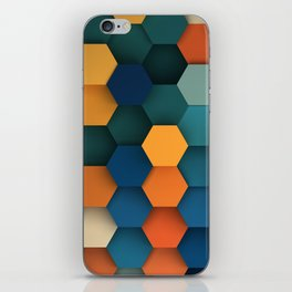 Hex Series #3 iPhone Skin