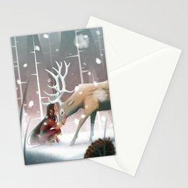 Soft winter Stationery Cards