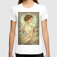 princess leia T-shirts featuring Princess Leia by trevacristina