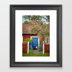 The Cottage. Framed Art Print