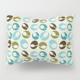 Mid-Century Modern Martini (teal) Pillow Sham
