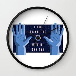 With my own two hands Wall Clock
