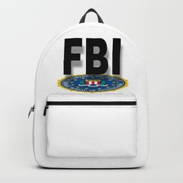 FBI Seal With Text Backpack
