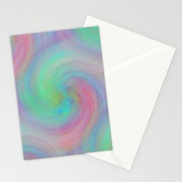 design in pastel tones -8- Stationery Cards