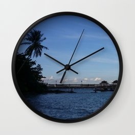 IT'S BLUE OUT THERE Wall Clock