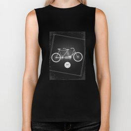 vintage bicycle Biker Tank