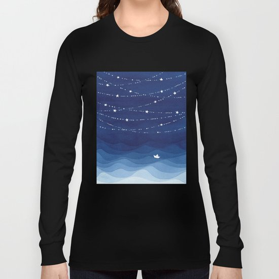 Garland of Stars IV, night sky by vapinx