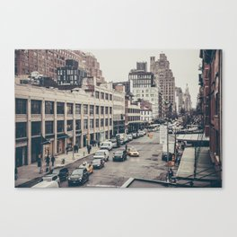Tough Streets - NYC Canvas Print