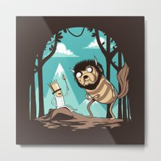 Where the Wild Adventures Are Metal Print
