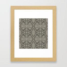 Medieval Pattern Framed Art Print