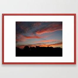Gator Sky Framed Art Print