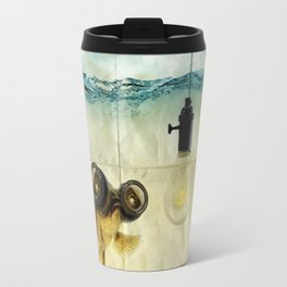 Fish Eyed Lens 03 Travel Mug