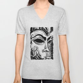 Dream of the Mask Unisex V-Neck