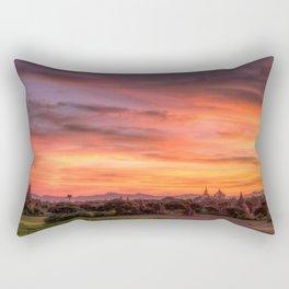 Bagan, Myanmar Rectangular Pillow