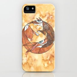Aesop's Fable: The Hare And The Hound iPhone Case