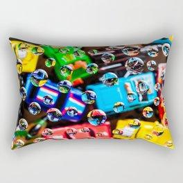 AJKG *Toy Cars + Drops* Rectangular Pillow