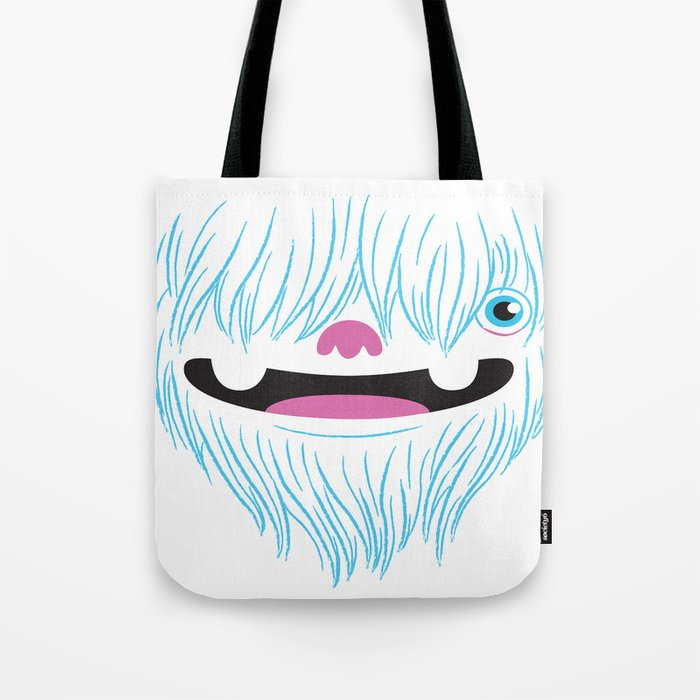 Happy Yeti Tote Bag