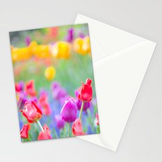 Soft Tulips Stationery Cards